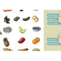 Interactivitat de classificació d'aliments